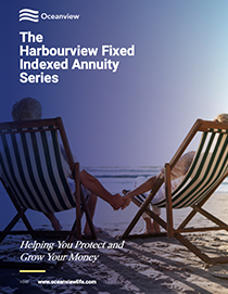 The Harbourview Fixed Indexed Annuity brochure cover